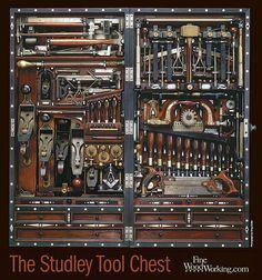 H. O. Studley Masonic Tool Chest