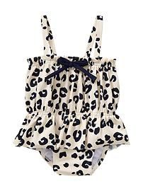 527f209268b4d gap baby printed navy leopard one piece girls bathing suit. This would be  cute for my baby girl