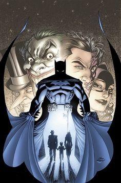 "extraordinarycomics: ""Batman by Andy Kubert. """