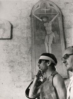Pier Paolo Pasolini sul set del film Il Decameron, 1971 Centro Studi - Archivio P. P. Pasolini / Cineteca di Bologna © All Rights Reserved