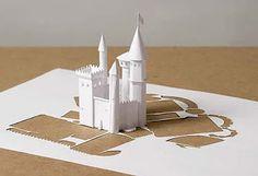 Peter Callesen obras en papel