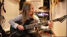 """10 year-old guitarist Zoe Thomson plays """"Canon"""", rock version by Johann Pachelbel. Hold on to your hats......"""