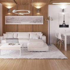 Z72 to wyjątkowy dom z kategorii projekty domów na wąską działkę Sofa, Couch, Divider, Bed, Interior, Furniture, Design, Home Decor, Projects