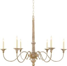 Small Country Chandelier | Visual Comfort Chandelier