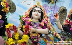To view Radha Close Up Wallpaper of ISKCON Chowpatty in difference sizes visit - http://harekrishnawallpapers.com/srimati-radharani-close-up-wallpaper-086/