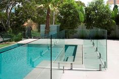 glass pool fence - Google Search