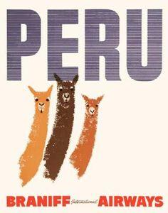 Peru - Braniff Airways
