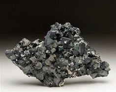 Tennantite with Galena from Tsumeb Mine (19.0 x 11.5 x 6.7 cm) Crystal Classics Minerals