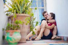 Séance photo au Maroc, pour la lune de miel de jeunes amoureux... Avec Bulles de joie !