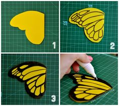 DIY Paper Butterflies by Agus Yornet