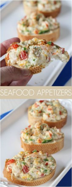 Great hot seafood appetizer with crabs and shrimps. … Great hot seafood appetizer with crabs and shrimps. Great hot seafood appetizer with crabs and shrimps. … Great hot seafood appetizer with crabs and shrimps. Crab Appetizer, Seafood Appetizers, Finger Food Appetizers, Seafood Dishes, Appetizers For Party, Seafood Recipes, Appetizer Recipes, Cooking Recipes, Appetizer Dessert
