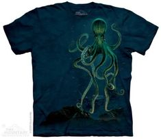 New The Mountain Octopus T Shirt