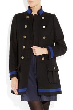 See by Chloe´ Wool-blend military coat $695