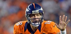 9.9.2012 Peyton Manning finishes with 253 passing yards and two TDs. Go Bronco's!
