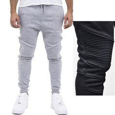 b3b3288193 Gym Pantalón pitillo elástico Casual Harem Hip-hop Pantalón pantalón Mens  Aptitud Corredor Pantalones Pantalones