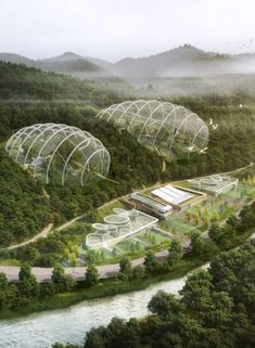National Research Center for Endangered Species, Samoo Architects & Engineers, world architecture news, architecture jobs - Chloe - Architecture Durable, Futuristic Architecture, Sustainable Architecture, Amazing Architecture, Landscape Architecture, Architecture Design, Ville Durable, Mini Mundo, Eco City