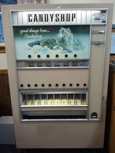 Vintage Candy Vending Machine by kathy