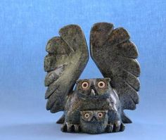 Owl Inuit Art (this design would make a lovely necklace)