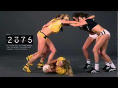 Babes Demonstrate the Rules to Rugby - YouTube