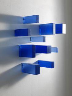 Ultramarine Blau Dunkel by Herbert Hamak Les Gobelins, Kind Of Blue, Renaissance Paintings, Red Art, Color Shapes, Glass Design, Set Design, Art And Architecture, Sculpture Art