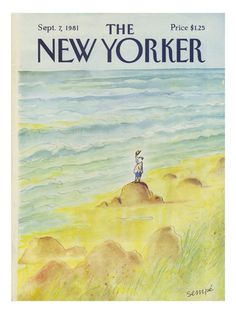 Sempé - The New Yorker cover, 1981