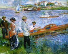 Pierre Auguste Renoir - Oarsmen at Chatou (1879)                                                                                                                                                      Más