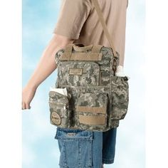camo dad diaper bag