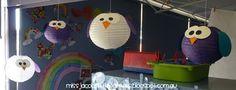 Owl Themed Classroom Library