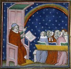 Barthélemy l'Anglais, Le Livre des propriétés des choses,  Paris, Bibl. Sainte-Geneviève, ms. 1028 , f. 395, vers 1380-1395
