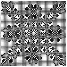 Trellis of Flowers Tablecloth Pattern chart Crochet Tablecloth Pattern, Free Crochet Doily Patterns, Crochet Earrings Pattern, Annie's Crochet, Fillet Crochet, Vintage Crochet, Crochet Doilies, Cross Stitch Designs, Cross Stitch Patterns