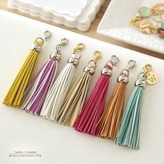 Tassel Charms - Charms - What's New! - Color Crush Planners & Accessories - Wholesale Only