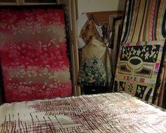 Mi estudio Curtains, Home Decor, Rosario, Silk, Studio, Blinds, Decoration Home, Room Decor, Interior Design