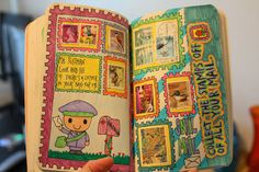 Wreck this journal - Collect stamps