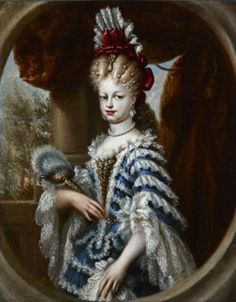 Retrato de María Luisa Gabriela de Saboya