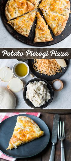 It eats like a pizza but tastes like a pierogi. What's not to love?