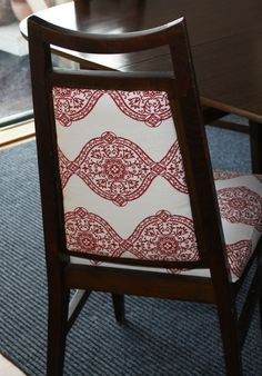 diy chair upholstery - Google Search