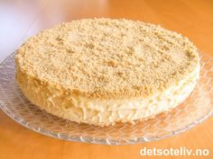 Osteiskake   Det søte liv Australian Sweets, Sweet Corner, Pudding Desserts, Let Them Eat Cake, Granola, Vanilla Cake, Tart, Muffins, Cheesecake