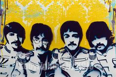 artwork....need the beatles in a beatles inspired room!