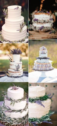 trending lavender wedding cakes for 2018 #weddingideas #weddingdecor #lavenderwedding #weddingtrends #weddingtheme