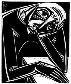 Carl Rabus (1898-1983) was een expressionistische kunstenaar    Rabus werkte in Berlijn als een boek en tijdschrift illustrator. In 1927 keerde hij terug naar München. In 1934 ging hij naar Wenen , waar hij de Joodse fotograaf Erna Adler, zijn toekomstige vrouw, ontmoette. Opgejaagd door de Nazi's weer gearresteerd en overgebracht naar de gevangenis in Wenen. Na de bevrijding in 1944 trouwden Carl Rabus en Erna Adler.