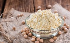 <p>Chickpea flour: it's high in protein, it's versatile, and you should be using it.</p>