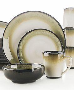 Sango Nova Black Dinnerware Collection