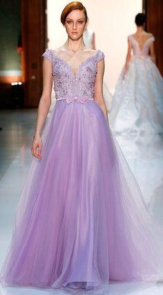long lilac organza gown - Google Search