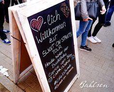 Hereinspaziert zur Bahlsen Sweet On Streets Tour in Kiel! // Come in! The Bahlsen Sweet On Streets Tour in Kiel! #LifeIsSweet #Bahlsen #SweetOnStreets #Kiel