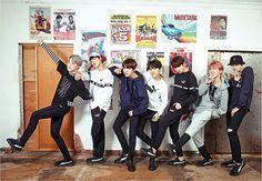 BTS PUMA photo shoot