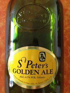 St Peters Golden Ale  Brewed by St Peters (UK) Style: Golden Ale/Blond Ale Bungay, England