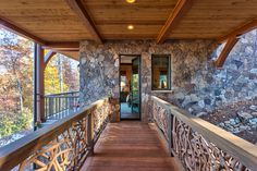 Creek Hollow Castle - traditional - entry - other metro - Glennwood Custom Builders (NC)