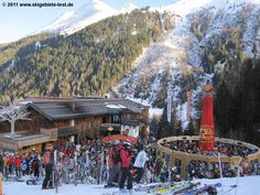 Apres Ski St Anton Am Arlberg - of course, is always good fun and party time, especially for those who don't ski! Hahaha...
