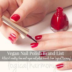 Vegan Nail Polish Brand List