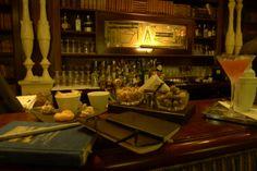 0288: MomS 3/6. Monte Carlo, Monaco, km 127'137, Le Bar in Metropol Hotel, 11 October 2011, 21:43 (local time): Bombay Monaco (one of the most beautiful bars, I've seen so far)